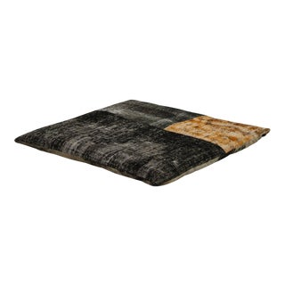 Modern Patchwork Floor Pillow For Sale