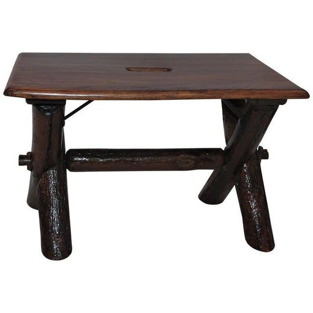 Old Hickory Furniture Co. Bench For Sale - Image 11 of 11