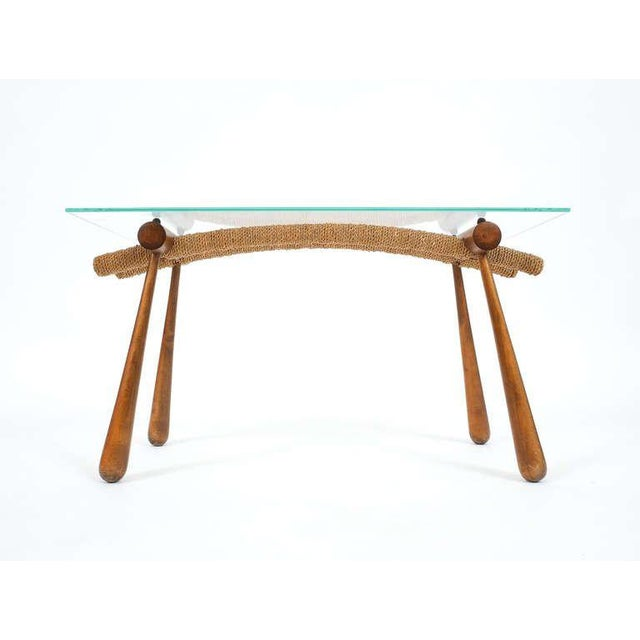 Iconic Modernist Coffee or Side Table by Max Kment, 1955 For Sale - Image 4 of 10