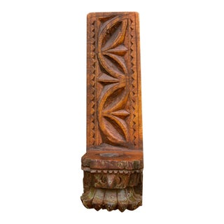 Wall Corbel Candle Stand For Sale