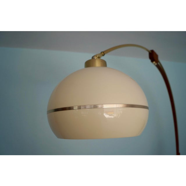 1960s Mid-Century Modern Nova Lighting Arc Floor Lamp For Sale - Image 5 of 11