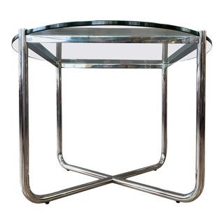 Midcentury Mies Van Der Rohe Mr Side Table For Sale