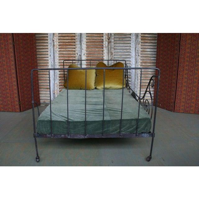 Folding Iron Bed - Image 8 of 9