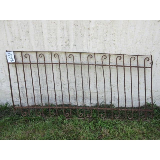 Antique Victorian Garden Fence For Sale - Image 5 of 5