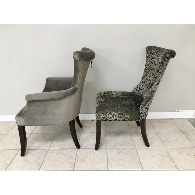 """Bernhardt """"Jet Set"""" Dining Table & 8 Chairs For Sale - Image 9 of 13"""
