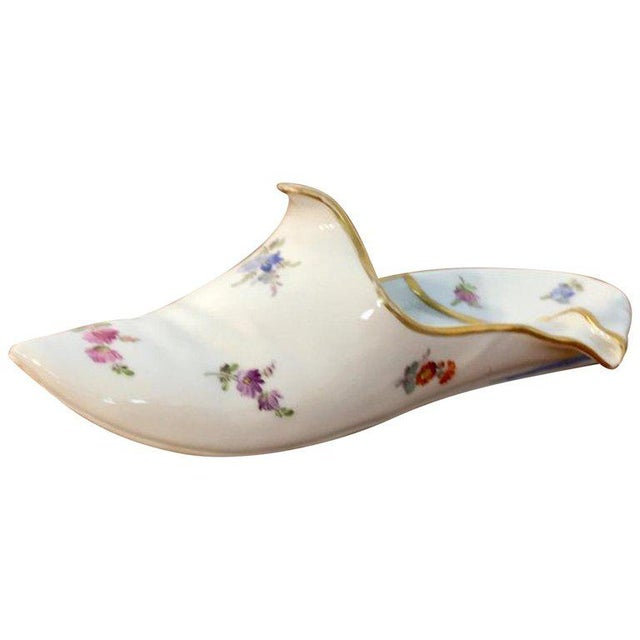 19th Century Meissen Model of a Slipper For Sale - Image 12 of 12