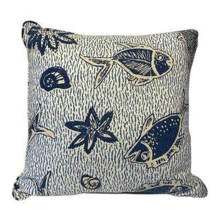 Contemporary Medium Fish Pillow For Sale