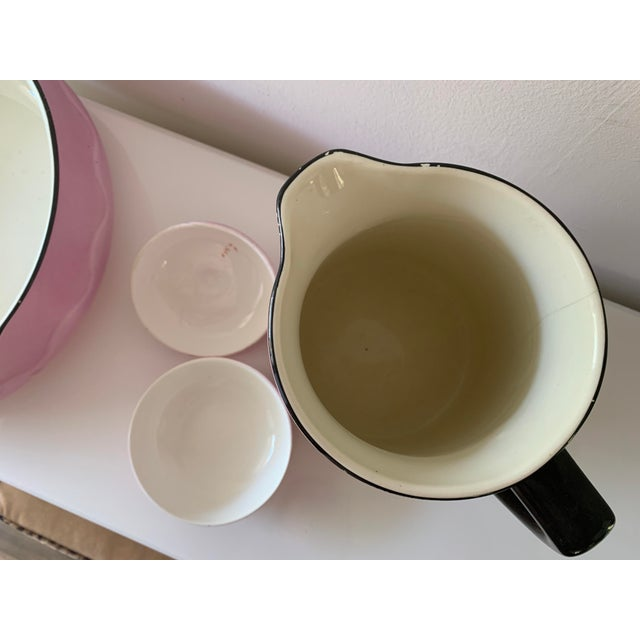 Early 20th Century Ludwig Wessel Wash Basin, Pitcher & Soap Container, 3 Pieces For Sale - Image 9 of 13