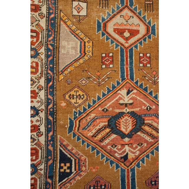 """Mid 19th Century Antique Serab Runner - 41"""" x 122"""" For Sale - Image 5 of 5"""