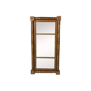 Late-19th-C. Gilt Painted Mirror