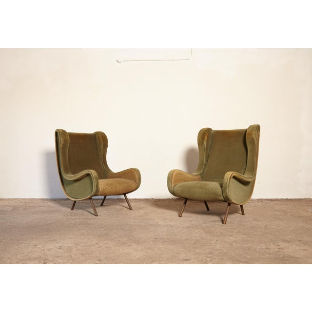 Marco Zanuso Senior Chairs, Arflex, Italy, 1960s - for Re-Upholstery For Sale - Image 10 of 10