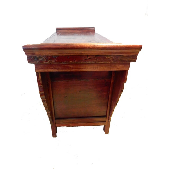 Cantonese Altar Table Bat Fu Chest. For Sale In New York - Image 6 of 9