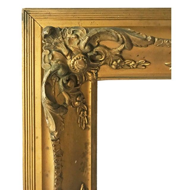 Antique Gilt Carved Picture Frame - Image 3 of 5