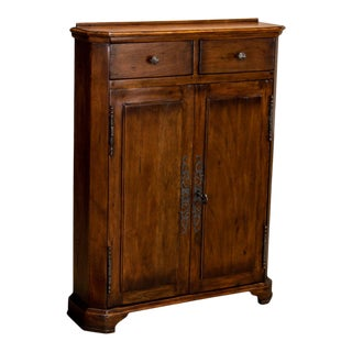 Austrian Hall Cabinet, Fruitwood For Sale