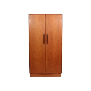 Mid Century G Plan Fresco Teak Wardrobe Armoire 1 of 2 For Sale
