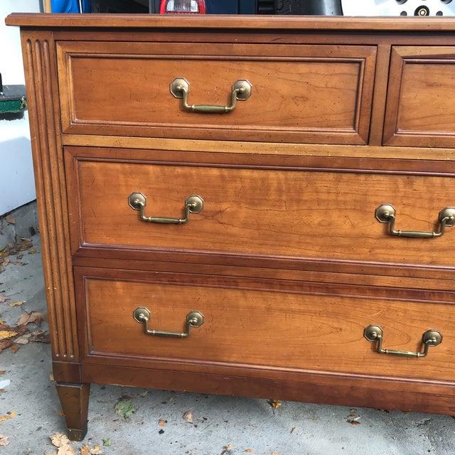 Vintage Kindel Belvedere Cherry Dresser - Image 4 of 10