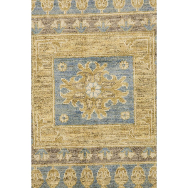 """Traditional Khotan, Hand Knotted Area Rug - 8' 10"""" x 11' 6"""" For Sale - Image 3 of 3"""