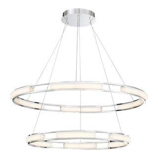 2027 Art Deco Fanton Round Chandelier For Sale