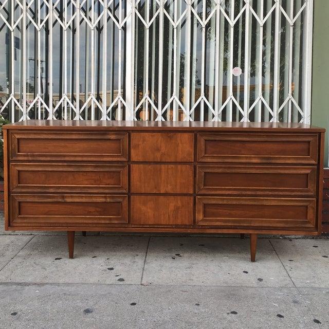 Vintage Walnut Dresser - Image 2 of 6