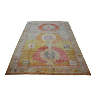 Turkish Hand-Knotted Contemporary Rug For Sale