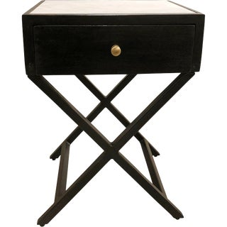 Transitional Anson Side Table For Sale