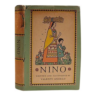 Nino by Valenti Angelo Book, 1938 For Sale