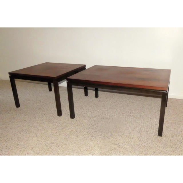 Mid-Century Modern Harvey Probber Rosewood Cocktail Tables - A Pair For Sale - Image 3 of 13