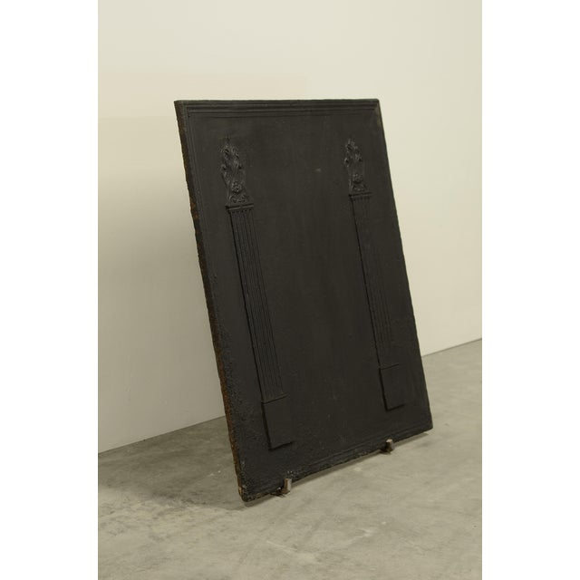 Fireback With Two Large Pillars For Sale - Image 4 of 5