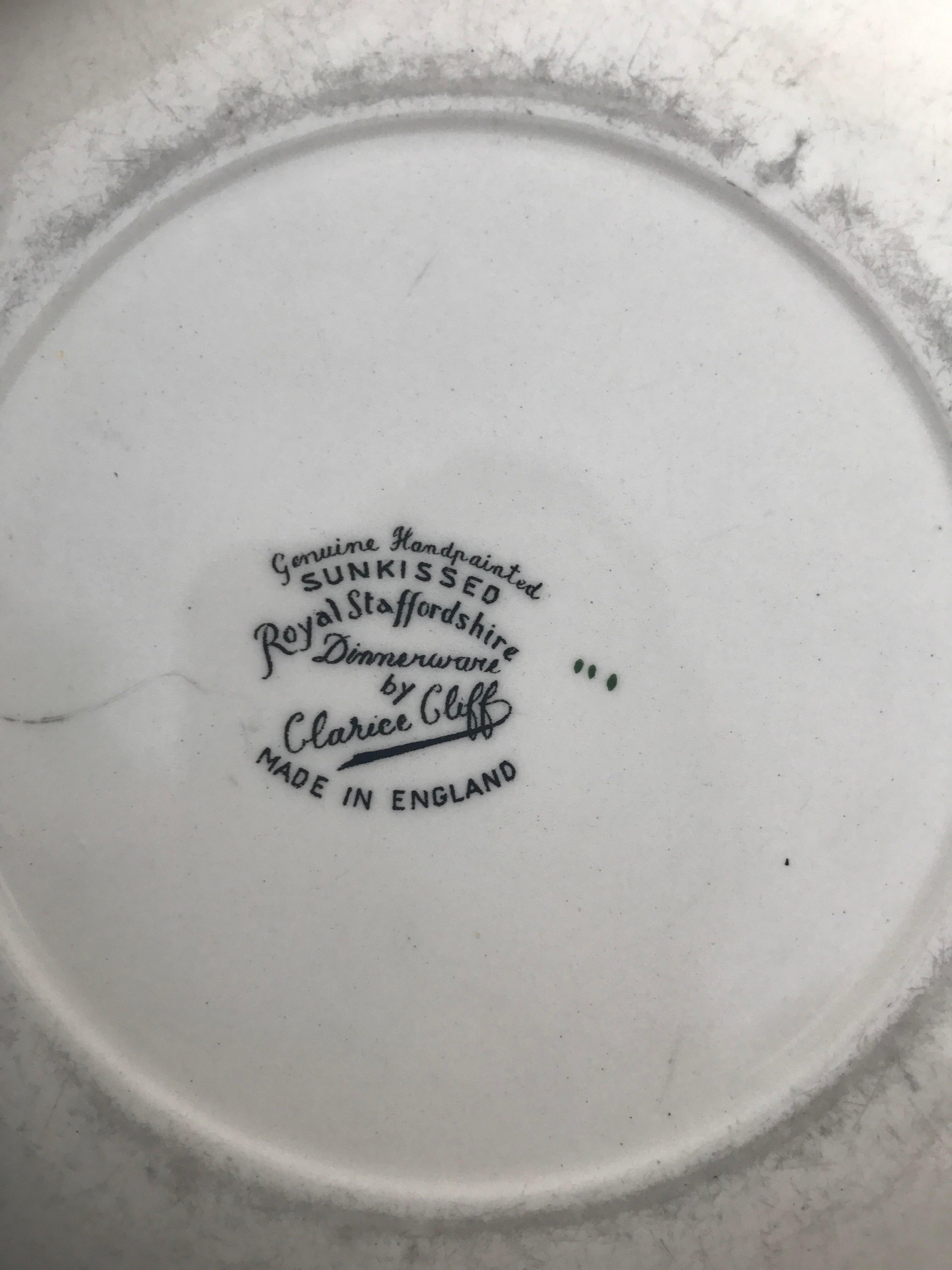 Staffordshire Banana u0026 Orange Decorative Plates - A Pair - Image 4 ...  sc 1 st  Chairish & Staffordshire Banana u0026 Orange Decorative Plates - A Pair | Chairish