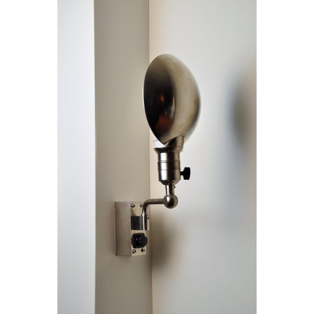 Modern Modernist Wall Lamp, Switzerland 1930s For Sale - Image 3 of 9