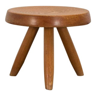 1950s Charlotte Perriand Berger Stool for Galerie Steph Simon For Sale