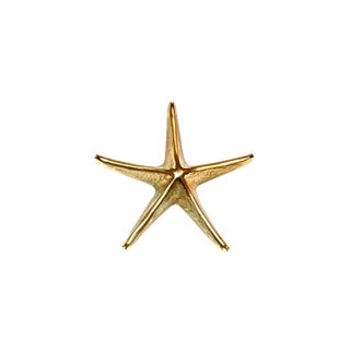 Starfish Brass 1990s Door Knocker