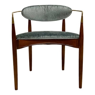Dan Johnson Viscount Chair for Selig For Sale