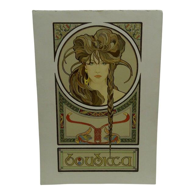 """""""Boudicca"""" Signed Print For Sale"""