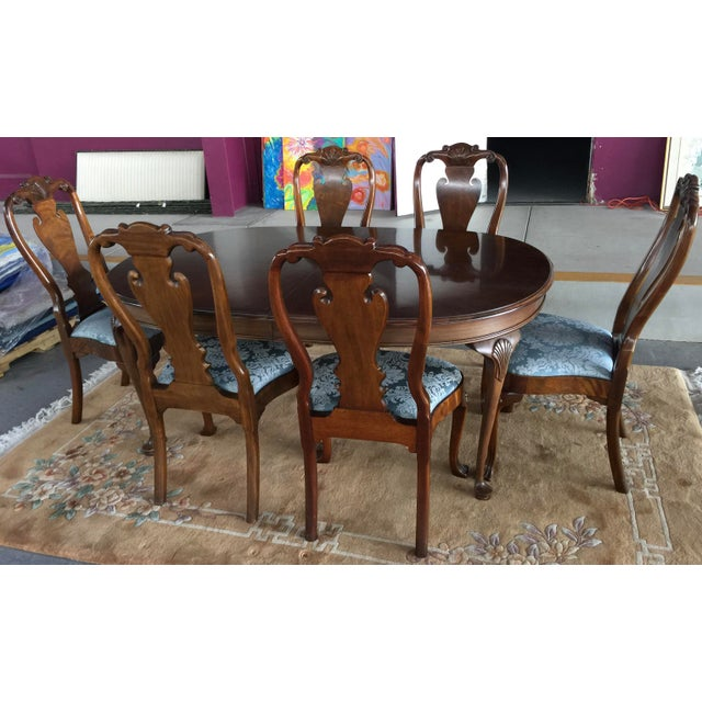 Councill Dining Room Set Table & Chairs For Sale - Image 12 of 12