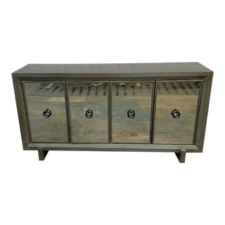 Transitional Vanguard Furniture Michael Weiss Durston Road Mirrored Sideboard For Sale