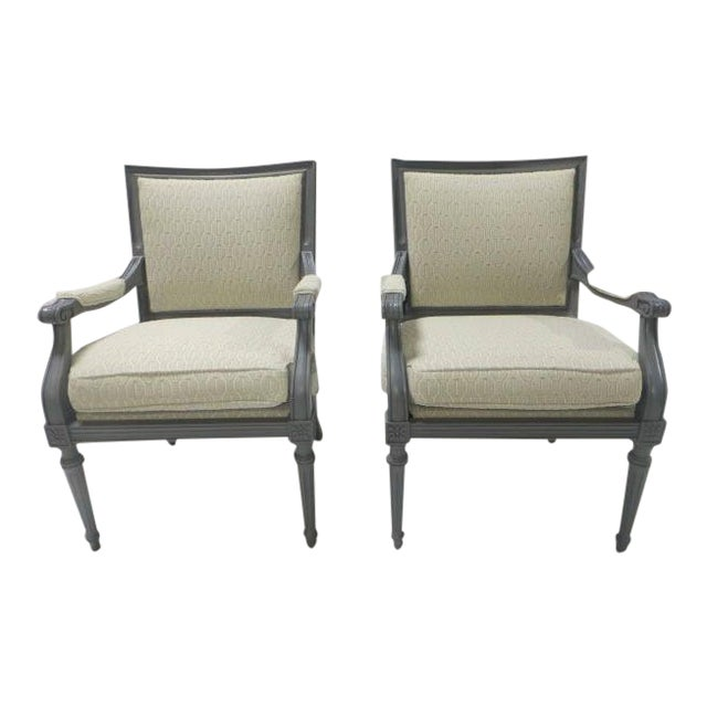French Directoire Side Chairs - A Pair For Sale