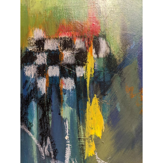 The Chess Game Painting For Sale - Image 4 of 5