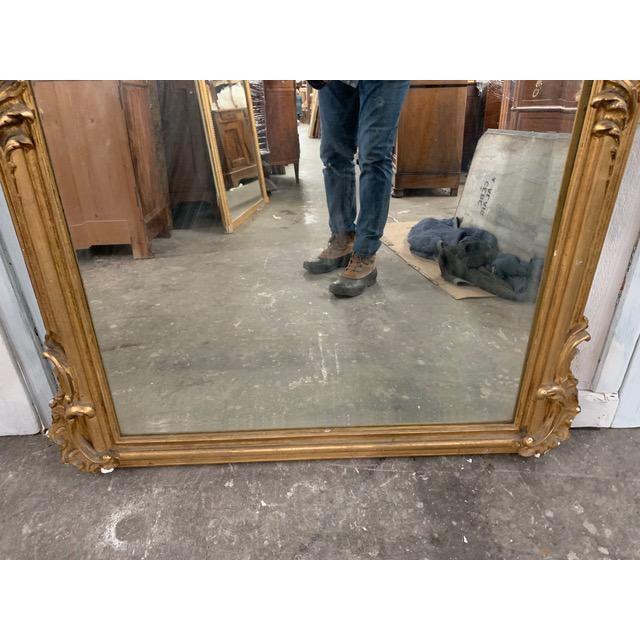 18th Century Grand Napoleon III Wall Mirror For Sale - Image 10 of 11