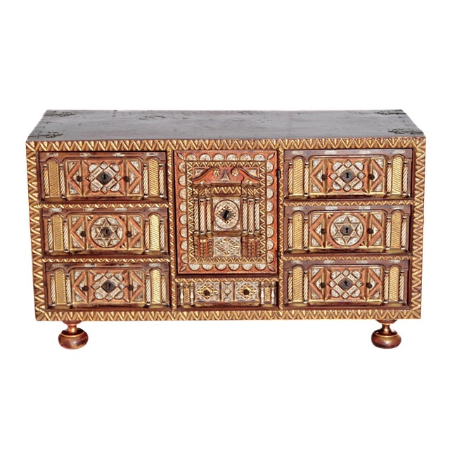 Spanish Bargueno / Portable Desk Cabinet For Sale