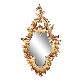 Small Italian Gilt Accent MIrror