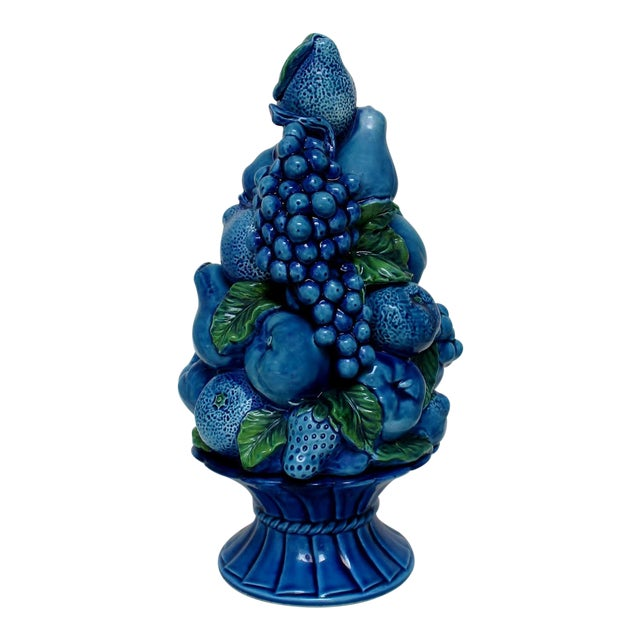 Vintage Porcelain Fruit Topiary For Sale