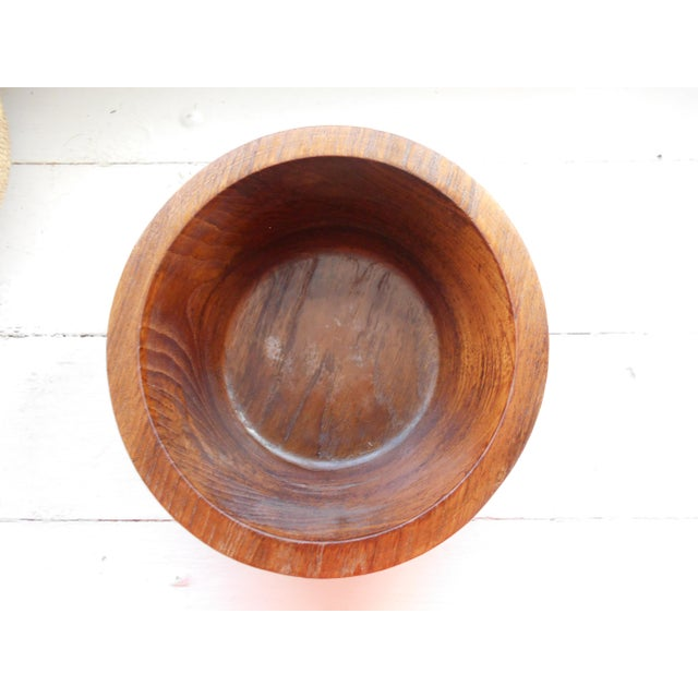 Vintage Teak Bowl - Image 6 of 7