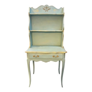 Late 20th Century French Provincial Style Petite Desk For Sale