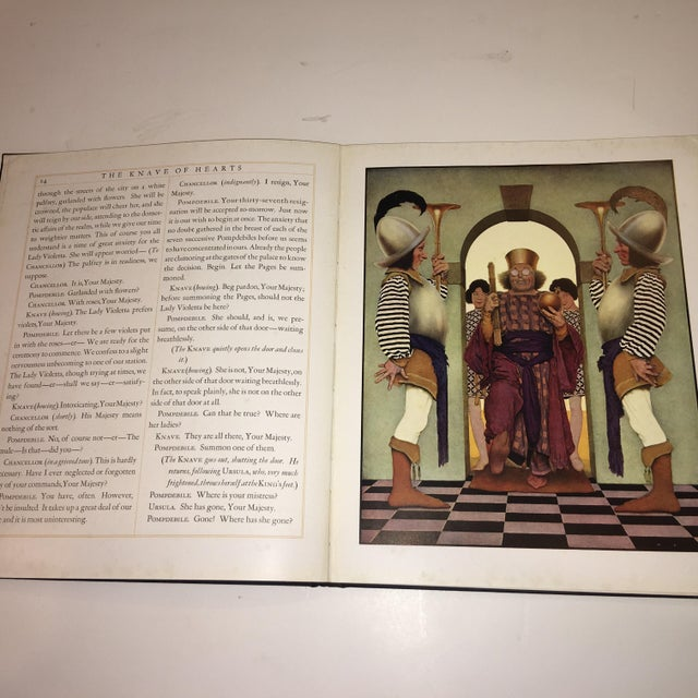 Red 1st Ed 1925 the Knave of Hearts Maxfield Parrish For Sale - Image 8 of 11
