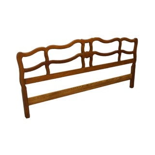 Davis Cabinet Provence Cherry Country French King Size Headboard Preview