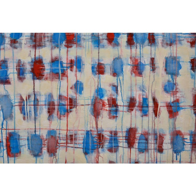 """""""Borderline~Askew"""" Abstract Painting For Sale - Image 9 of 11"""