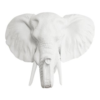 Wall Charmers Elephant in White