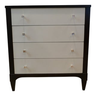 Hickory Chair Two-Toned Chest of Drawers For Sale