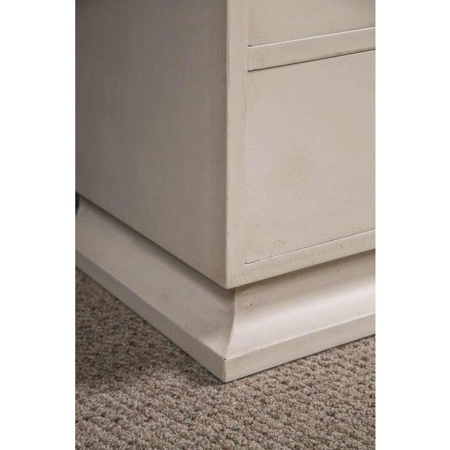 Jansen Hollywood Regency White Painted Dresser - Image 4 of 7